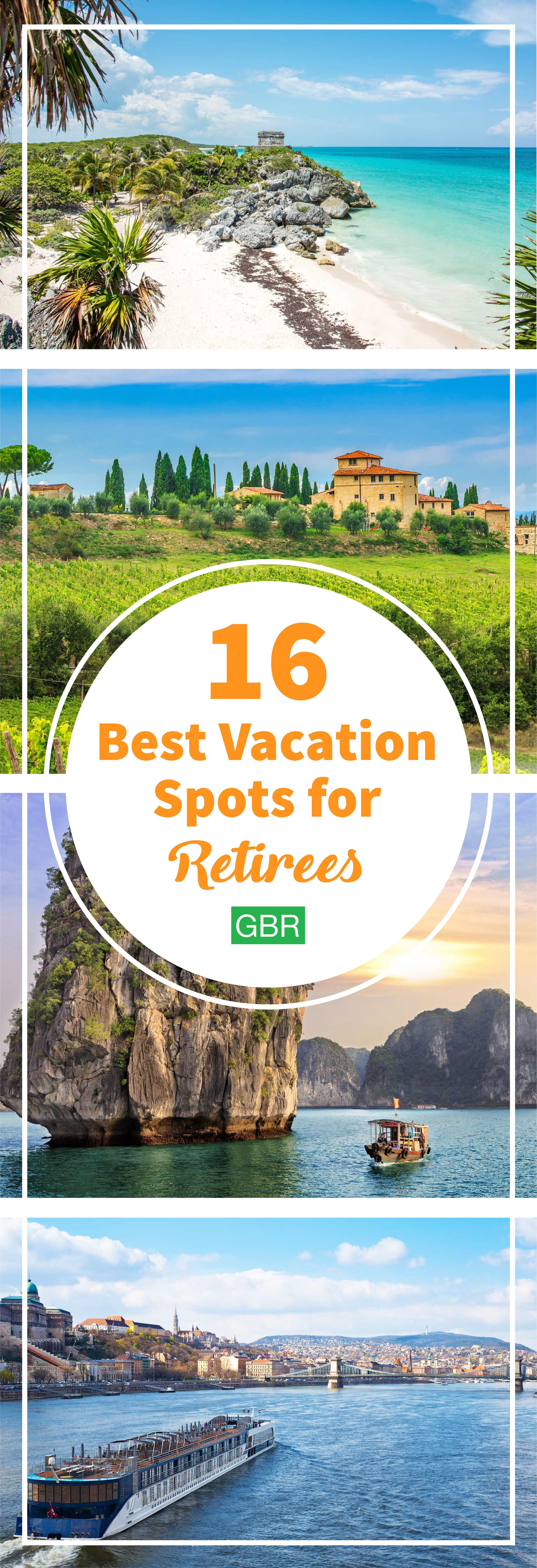 Try these awesome vacation spots where retirees can travel