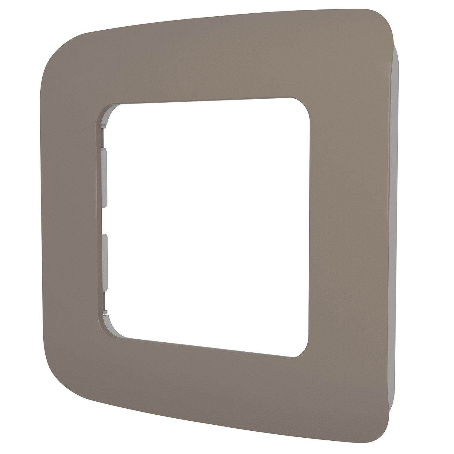 Plaque Simples Cosy Lexman Brun Taupe N 3 Prise
