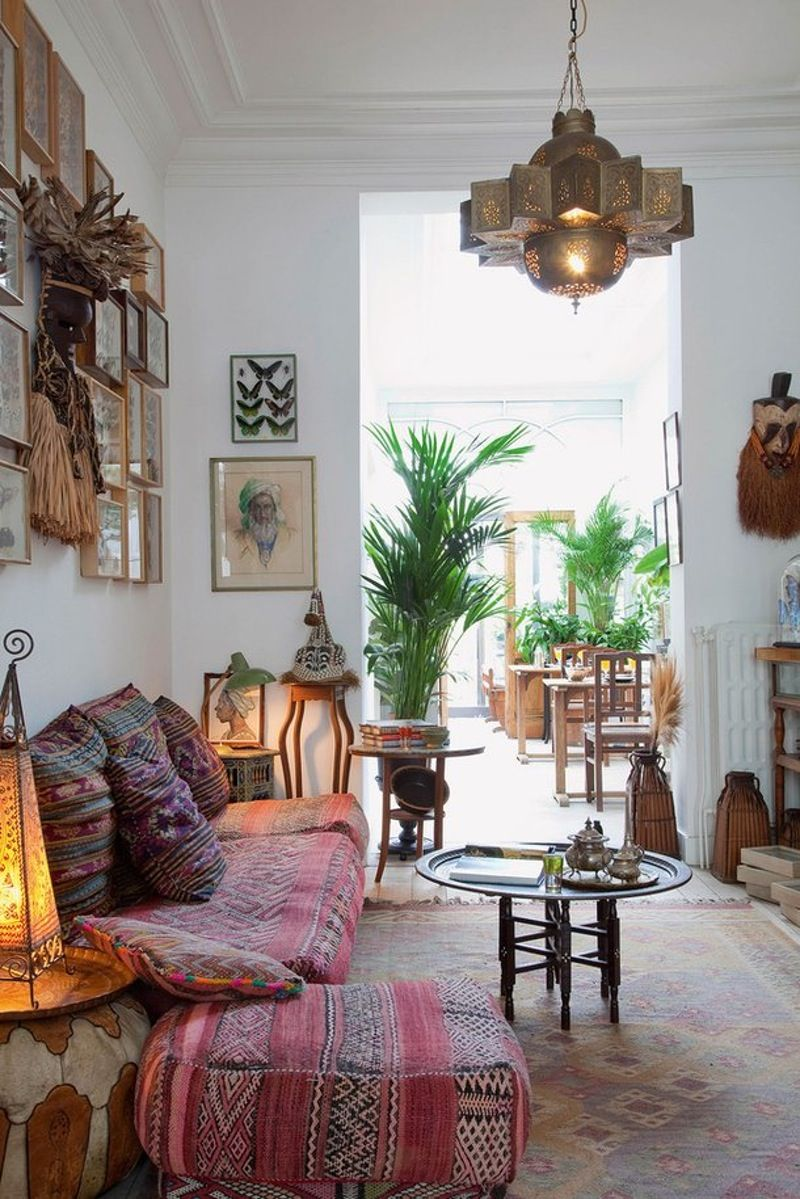 46 Bohemian Chic Living Rooms For Inspired Living Part 79