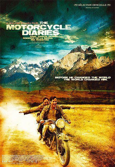 Motorcycle Diaries Diary Movie Biker Movies Classic Movies