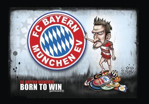 Fcb By Gamez Sports Cartoon Germany Football Bayern Cartoon