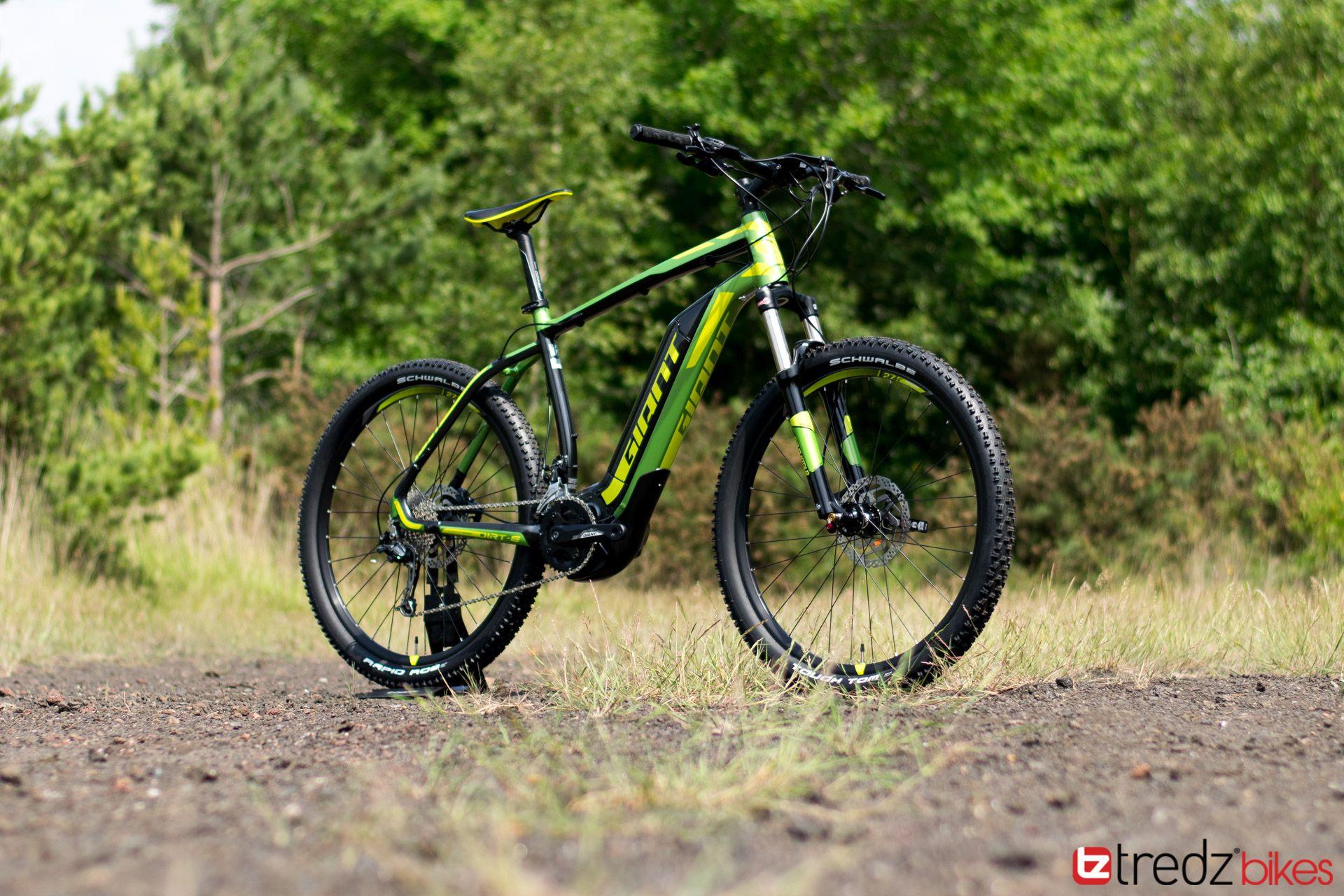 2017 Giant Dirt E Electric Mountain Bike Review Tredz Bikes