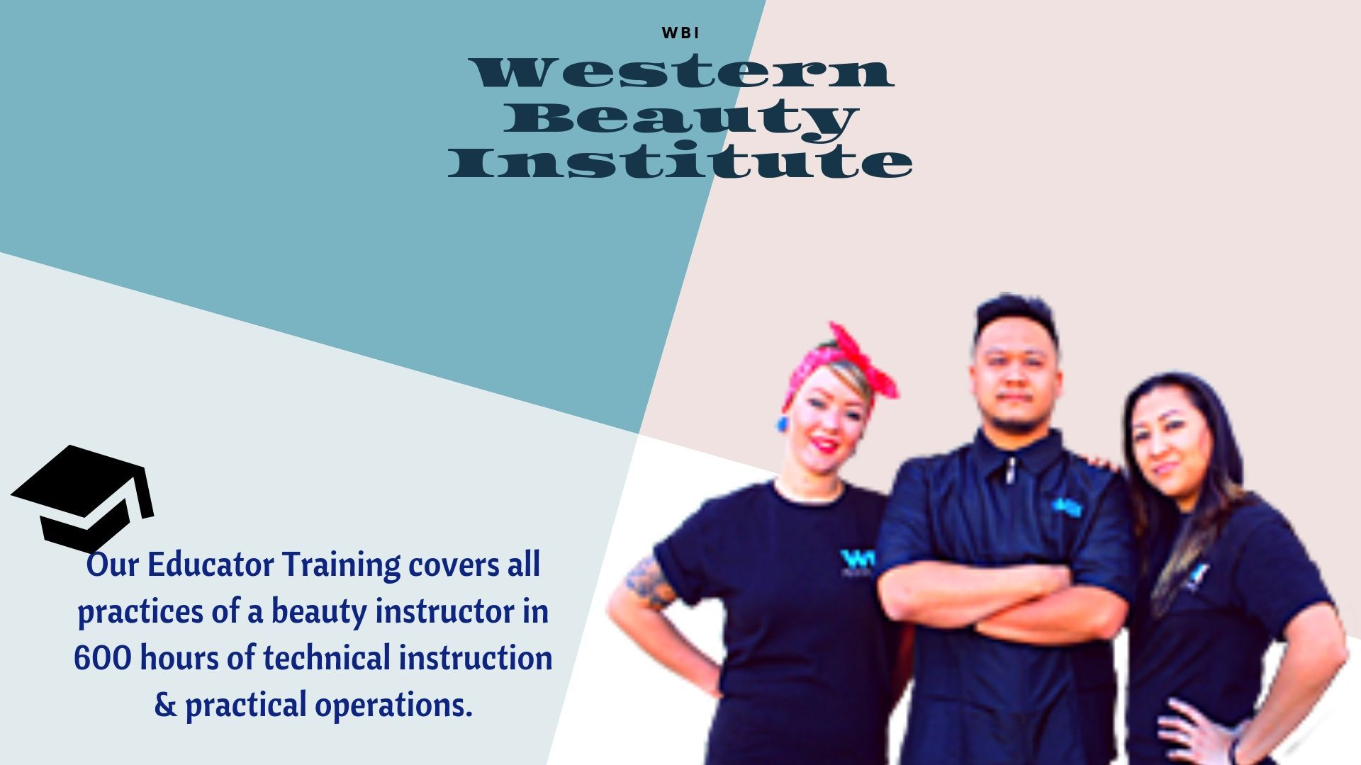 WBI California's premier cosmetology and barber school