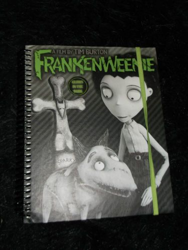 New Sparky Frankenweenie Journal Disney Tim Burton School Office Lined Diary Tim Burton Burton Disney