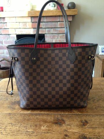 2d72cb3be Daisy Rose Beauty: Louis Vuitton Neverfull MM Damier | Handbags ...