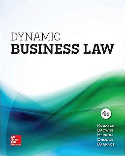 Dynamic business law 4th edition by nancy kubasek m neil browne dynamic business law 4th edition by nancy kubasek m neil browne isbn 13 978 1259723582 fandeluxe Image collections