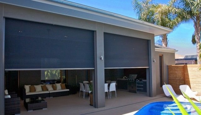 WINDOW CXOVERINGS FOR SCREENED IN PATIO | Zipscreen Outdoor Roller Blinds