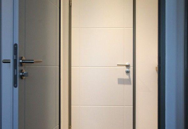 Portes grav es technid cor huet d coration pinterest - Recouvrir porte interieure ...