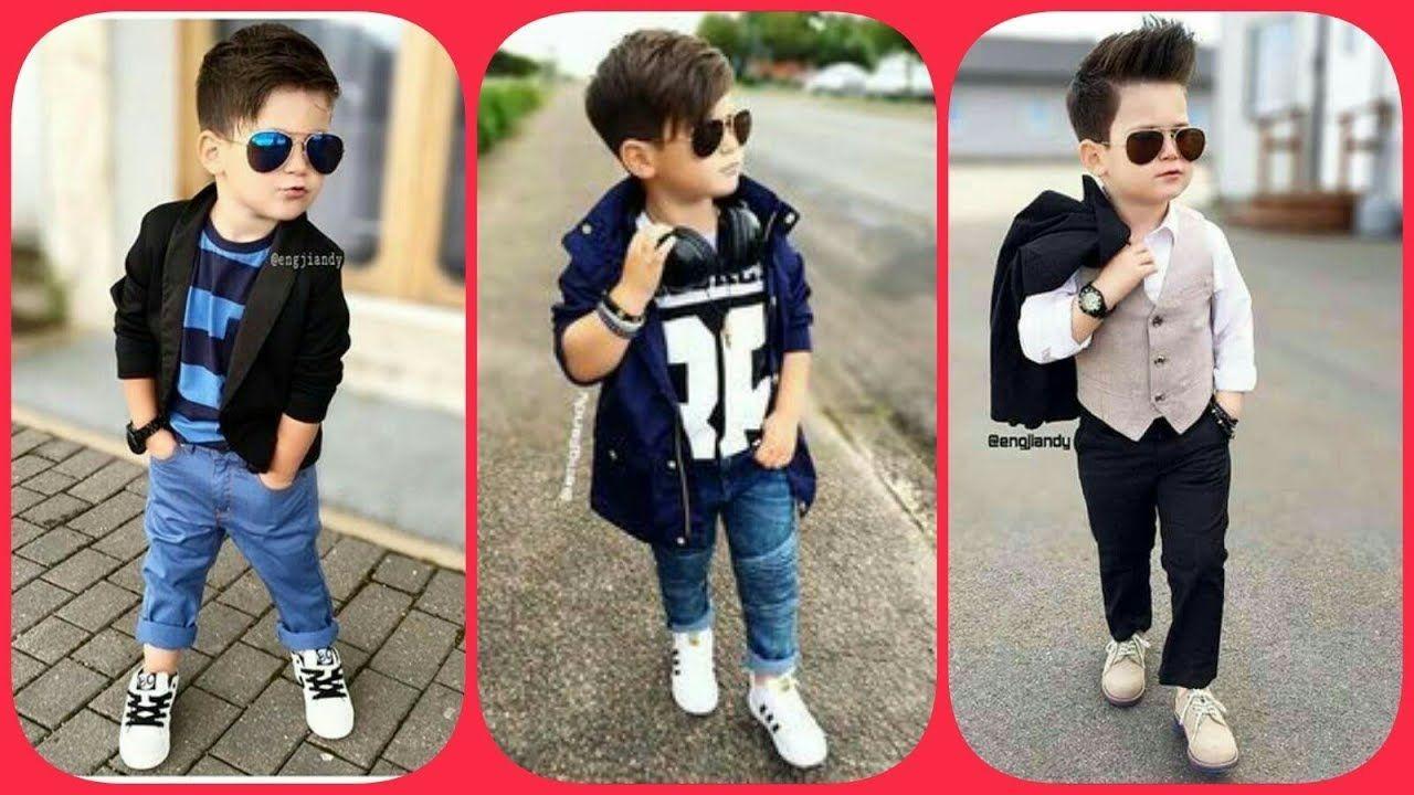 Dresses stylish for boys rare photo