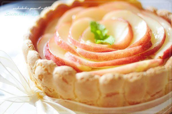 水蜜桃夏洛特 *****超級愛的食譜!!