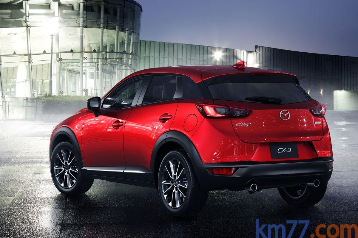 Mazda CX-3 Gama CX-3 Gama CX-3 Todo terreno Exterior Lateral-Posterior 5 puertas