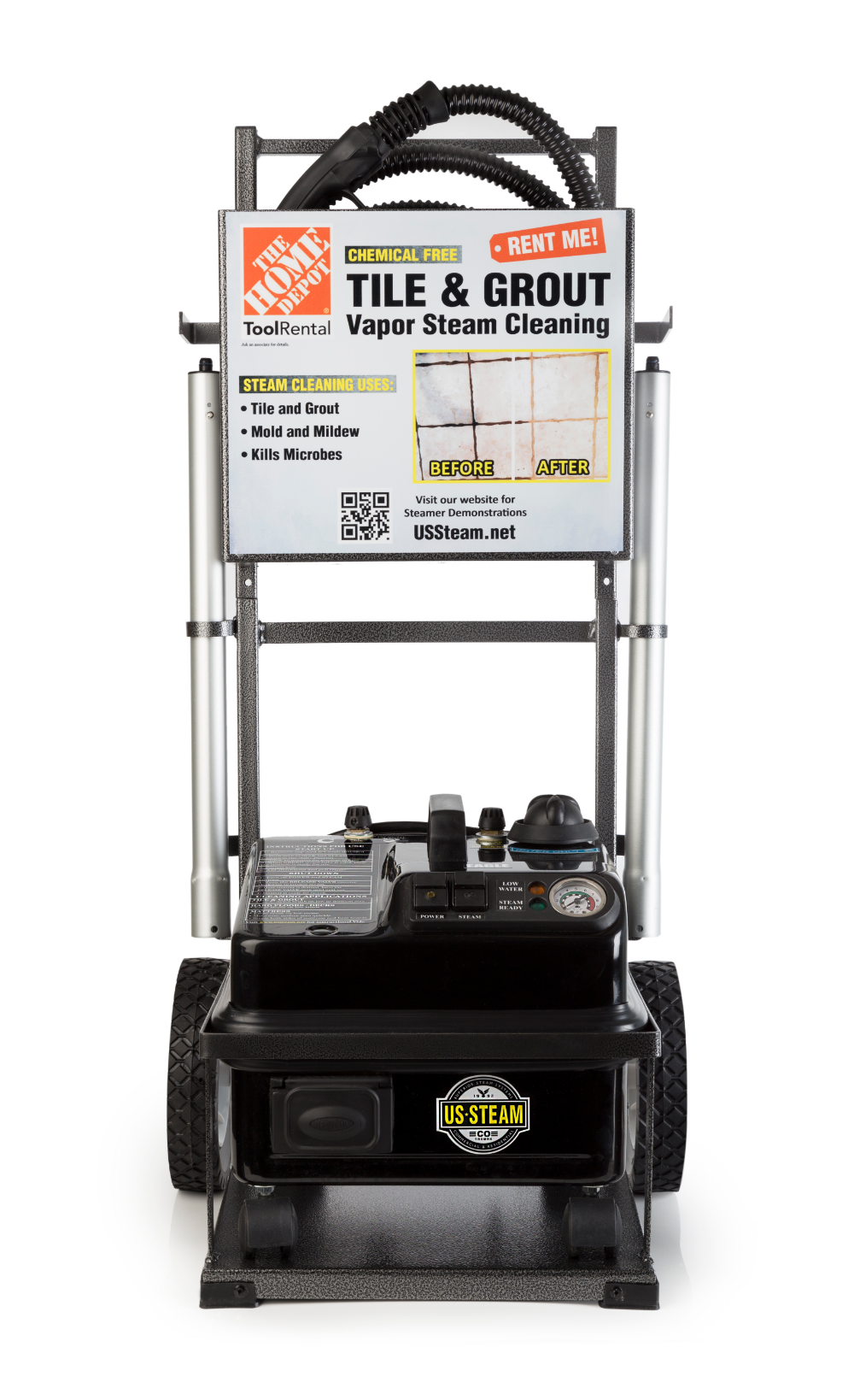 Tile And Grout Steam Cleaner Rental The Home Depot Grout Cleaning Machine Grout Steam Cleaner Grout Cleaner