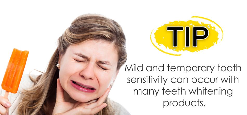 Tooth Sensitivity from Teeth Whitening Products