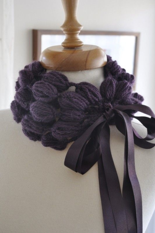 OMG that would take a whole skein of yarn but could you imagine if you got a really nice one?!