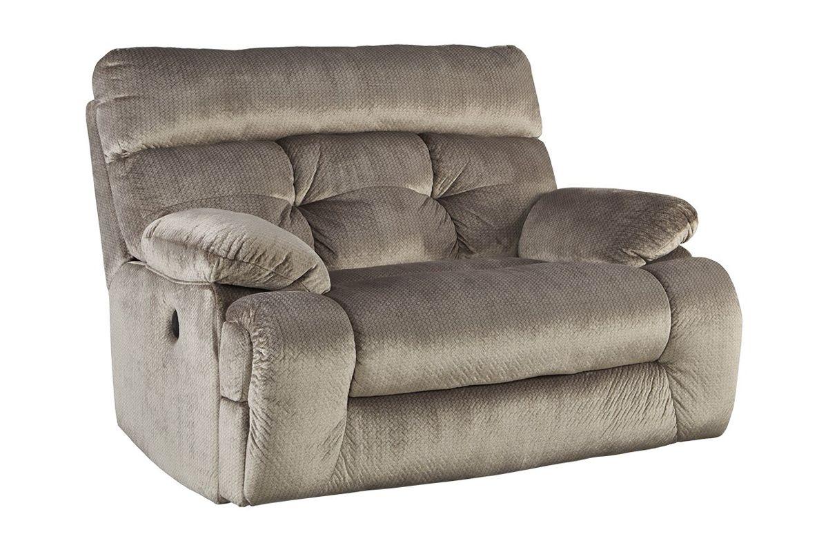Brassville Oversized Recliner Ashley Furniture HomeStore