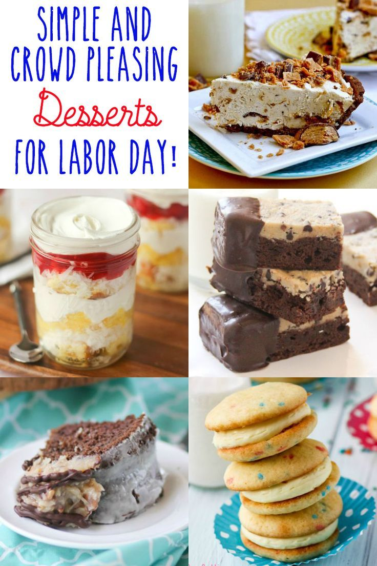 Simple And Crowd Pleasing Labor Day Desserts Cookbook Queen
