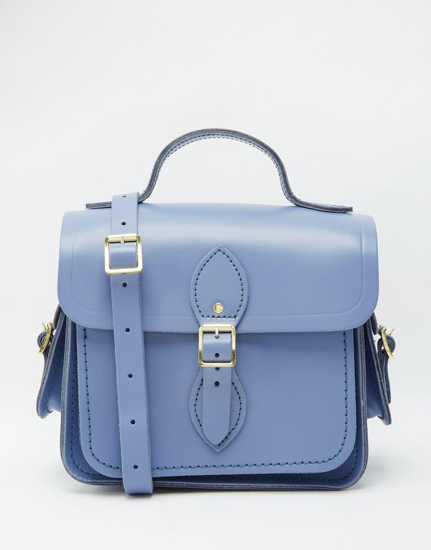 The Cambridge Satchel Company Leather Traveller Bag with Side Pocket at asos.com
