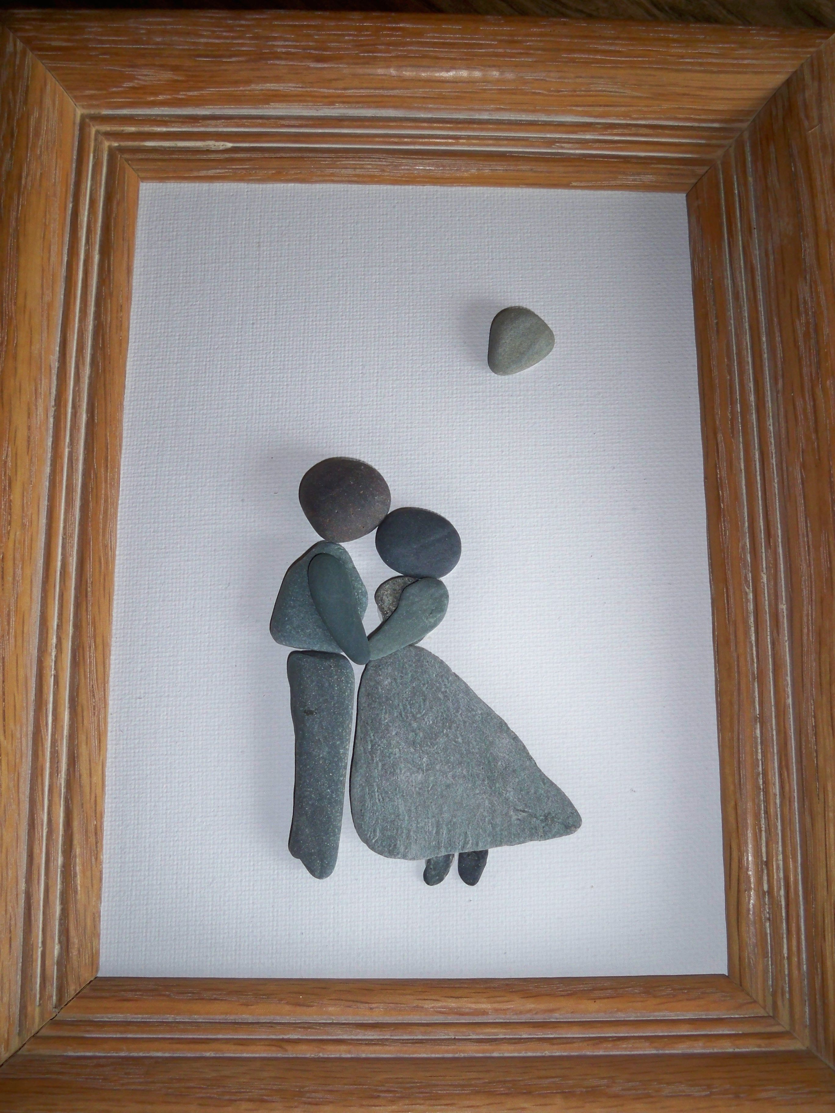 Love is in the air....   ABunchOfPebbles&Rocks   Pinterest   Pebble ...