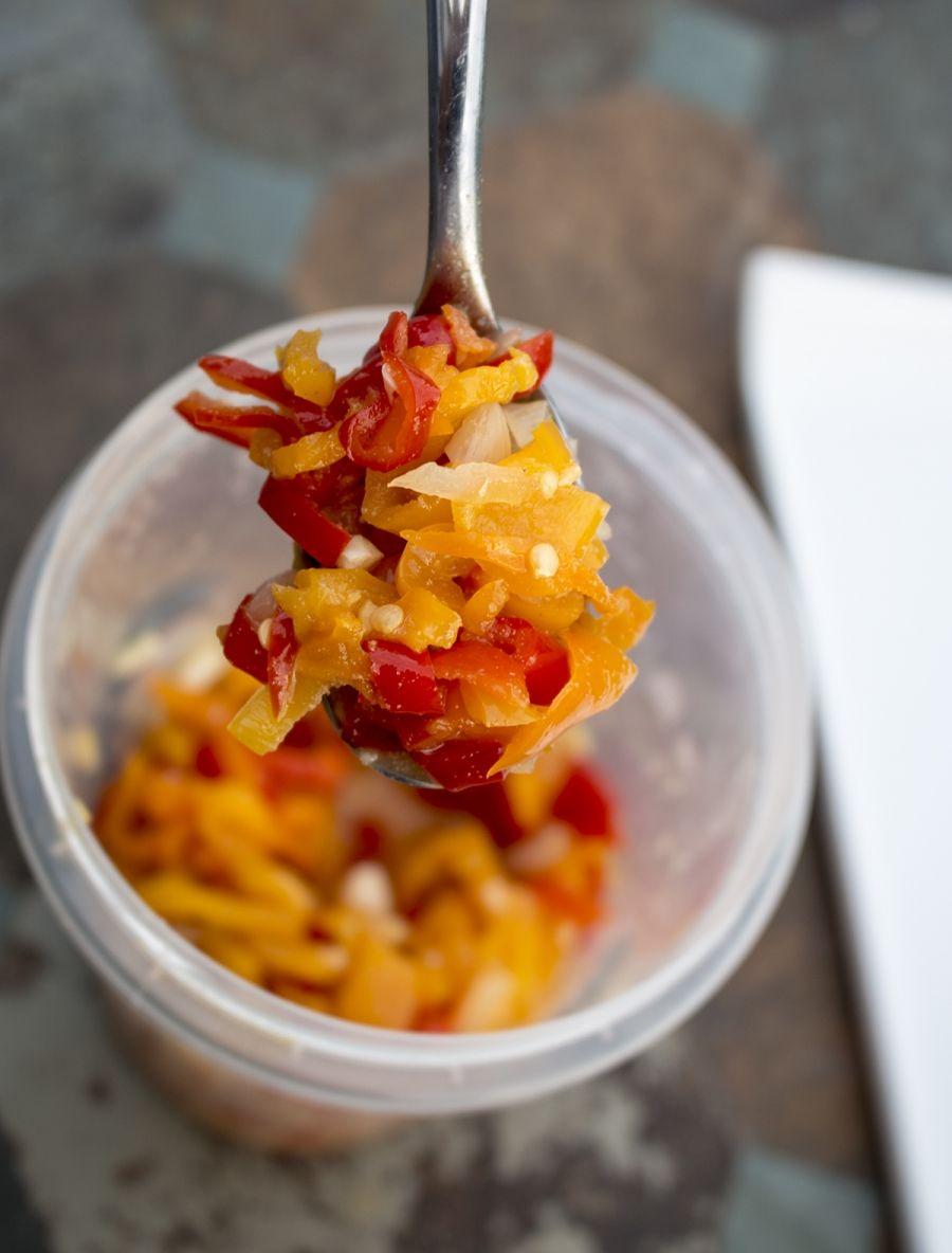 Sweet Chili Pepper Relish