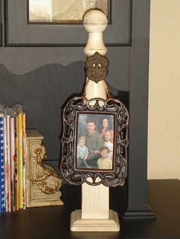 Great Idea For A Table Top Wreath Holder Wreath Holder Wreath Hangers Candle Sconces