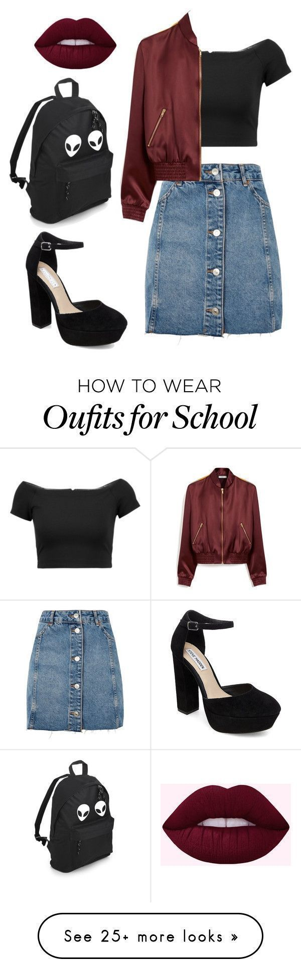 quot;Untitled #1 quot; by halina-chaika on Polyvore featuring Topshop, Alice + O…