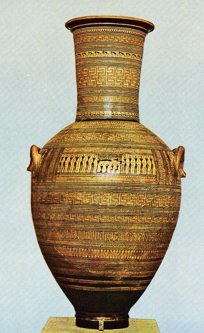 I Love The Geometric Inspiration Dark Age Archaic Greek Pottery