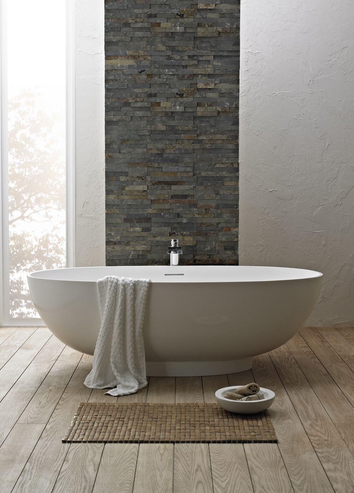 feature wall tiles bathroom