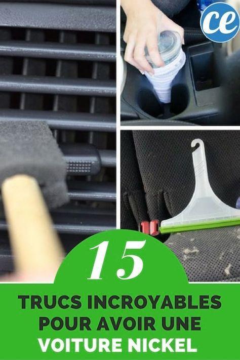 15 trucs incroyables pour que votre voiture sale soit comme neuve trucs et astuces. Black Bedroom Furniture Sets. Home Design Ideas