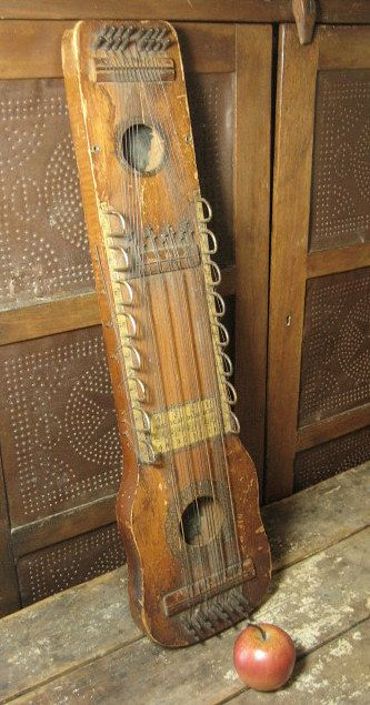 Unique Old Ukelin Stringed Musical Instrument Great Display Piece
