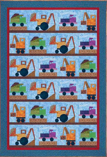 Construction Zone Quilt Pattern Download