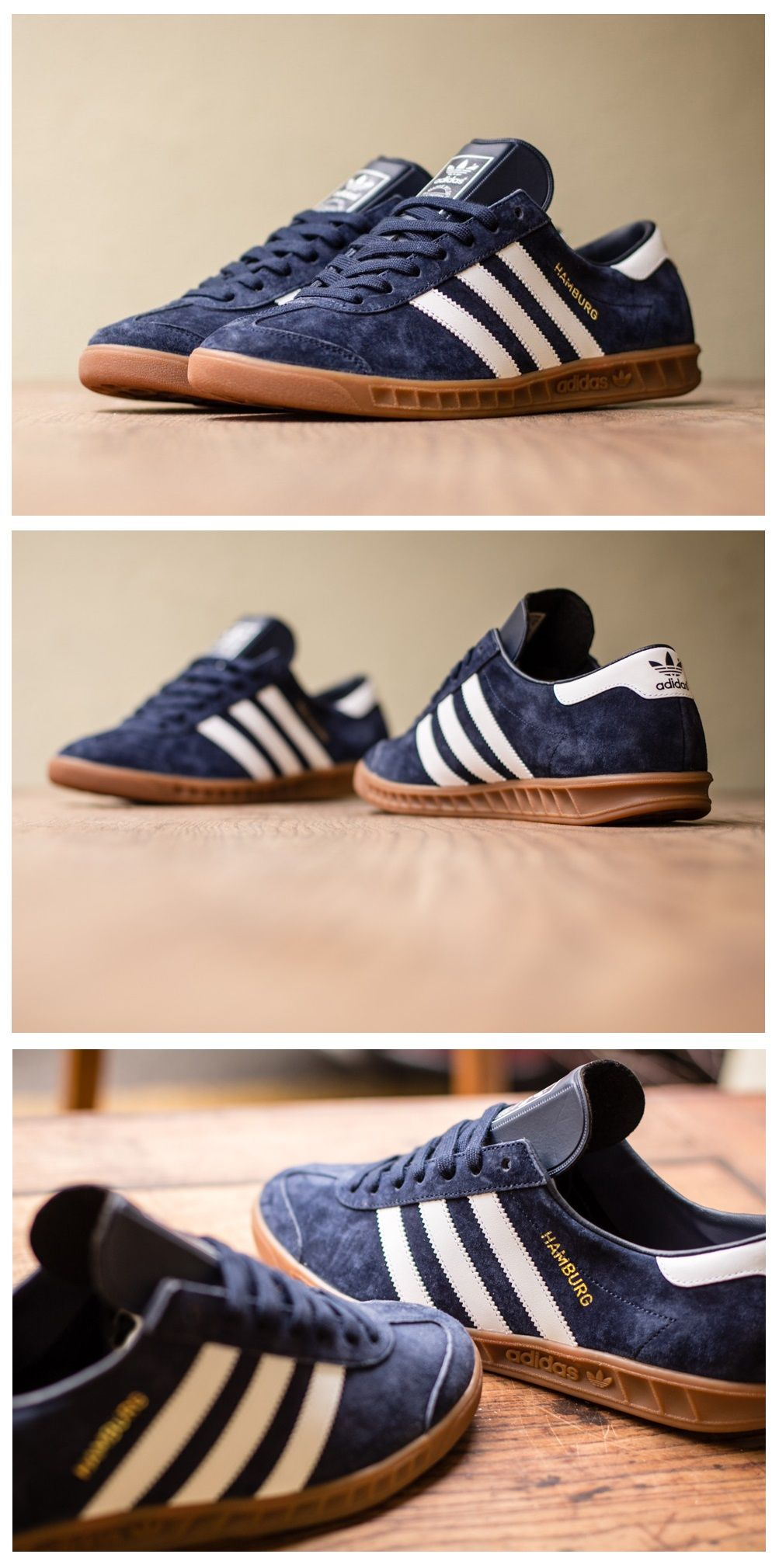 012d1b3b9 Check out all the colors at Eastbay.  Running  Shoes twitter.com ... adidas  Originals Hamburg  Navy Suede Cheap Trainers Uk
