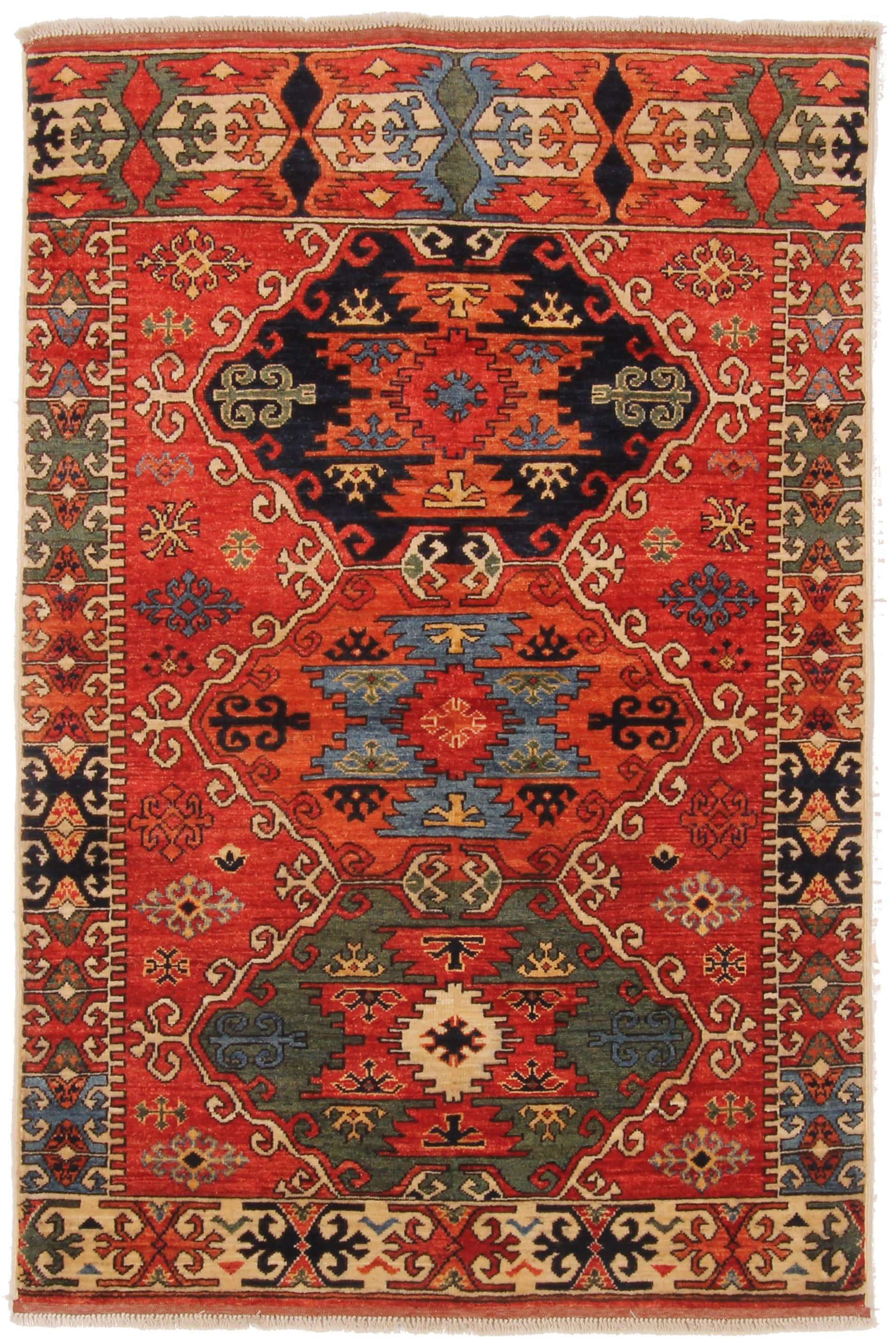 Best 39082 Kazak Pakistani In 2020 Rugs On Carpet Rugs 400 x 300