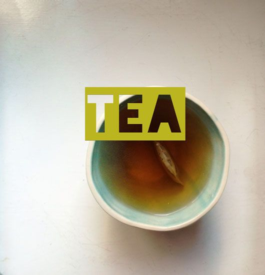 Tea. Made with the Over app.