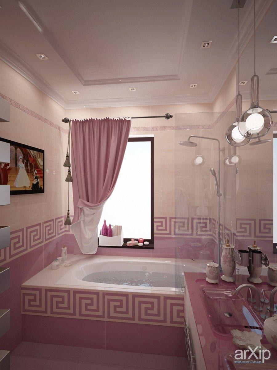 Ванная для Златы от Vitta-group: интерьер, квартира, дом, комната отдыха, зона отдыха, ар-деко, потолок, 10 - 20 м2 #interiordesign #apartment #house #lounge #sittingarea #artdeco #ceiling #10_20m2
