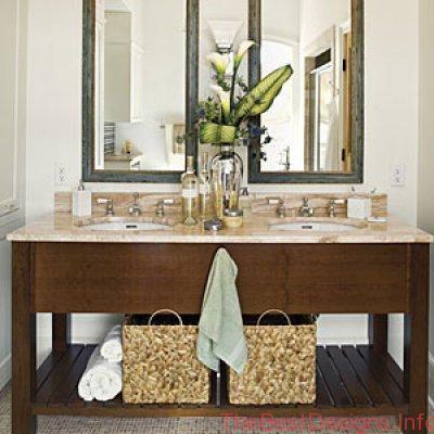 Storage for Accessories in Bathroom Design
