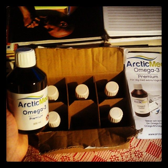 ArticMed: the best omega 3 oil you can get (at least in Europe).