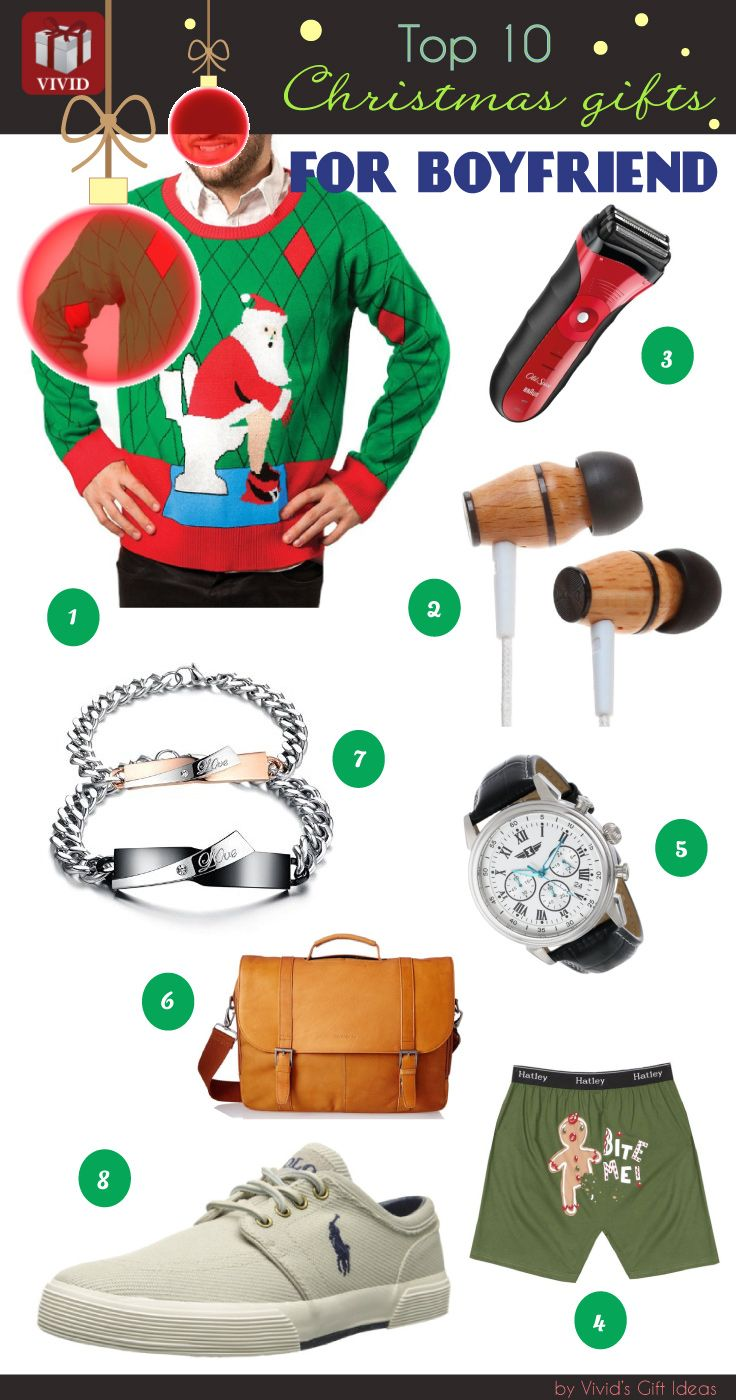Christmas Gift Guide: What To Get for Your Boyfriend   Top 10 ...