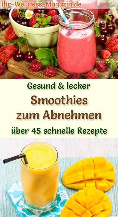 Photo of Smoothies zum Abnehmen – 50 gesunde Smoothie-Rezepte