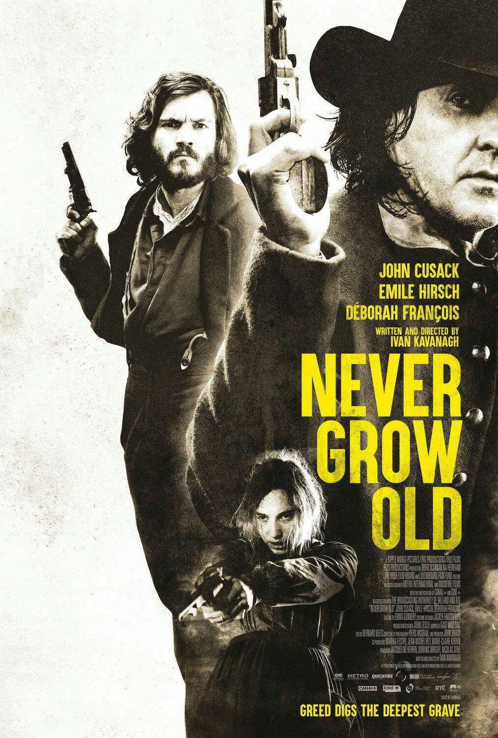 New Poster For The Western Never Grow Old Nevergrowold