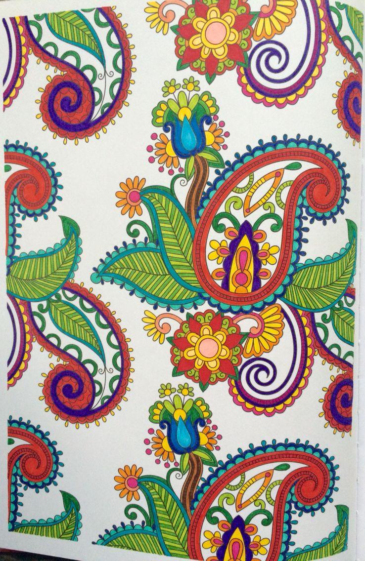 100 coloriages anti stress art th rapie hachette art therapie pinterest art therapy - Coloriage art therapie ...