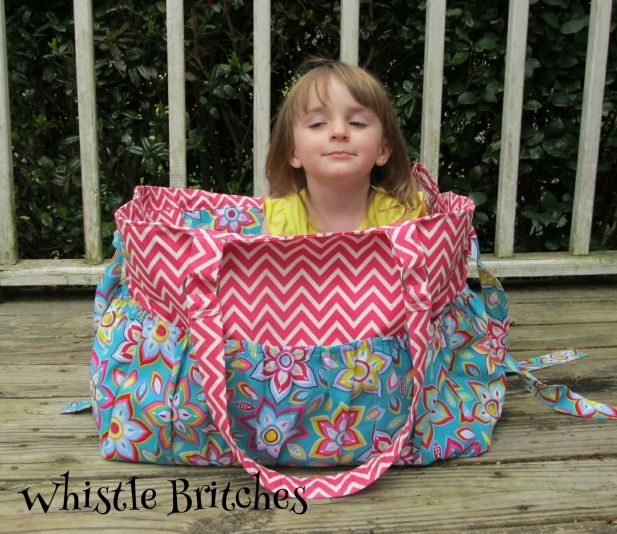 L Custom Boutique Diaper Bag Travel Pockets Made To Order
