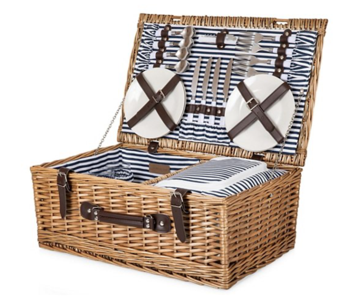 Shop Rhyme Reason S Picks For Your Closet Picnic Basket Set Picnic Basket Wicker Picnic Basket