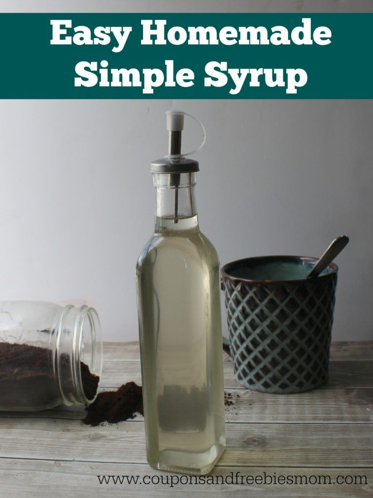 Easy Homemade Flavored Coffee Syrups - Coupons and ...
