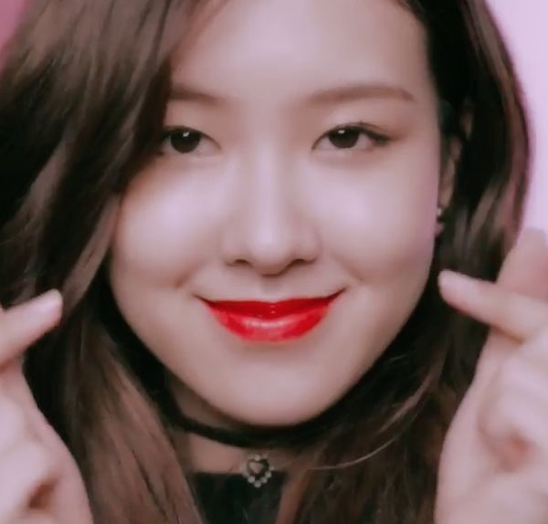 Rose With The Red Lips Blackpink Rose Blackpink Pretty Face