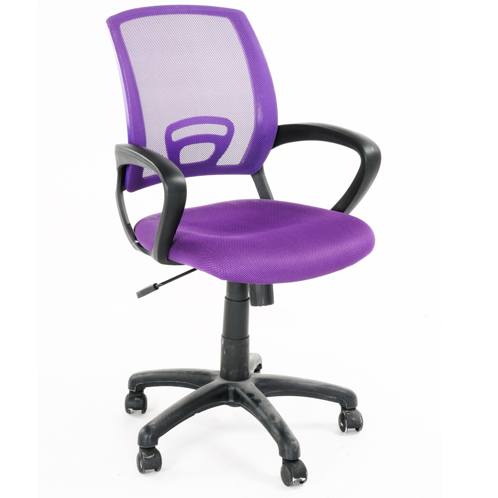 126.00$  Buy now - http://aligfv.worldwells.pw/go.php?t=32697795015 - Aingoo Fashion Office/Computer Chair Breathable One Touch Pneumatic Seat Height Adjustable 360 Degree Rotating Wheel OfficeChair