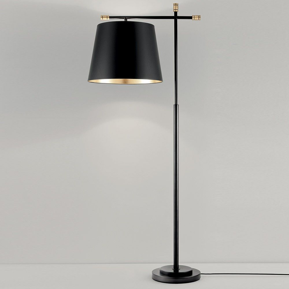 Chelsom boston floor lamp black bronze gold interior lighting buy chelsom boston floor lamp black bronze online with houseology price promise mozeypictures Choice Image