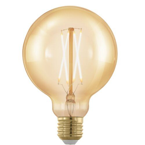 Symple Stuff 4w E27 Dimmable Led Vintage Edison Light Bulb Amber
