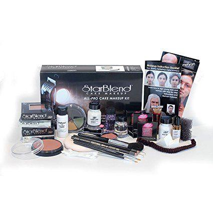 mehron starblend cake makeup  allpro makeup kit