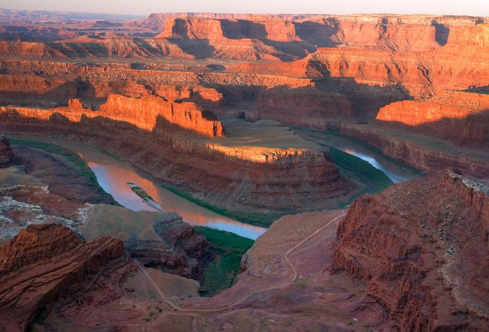 Go to dead horse point state park and stay in a yurt!