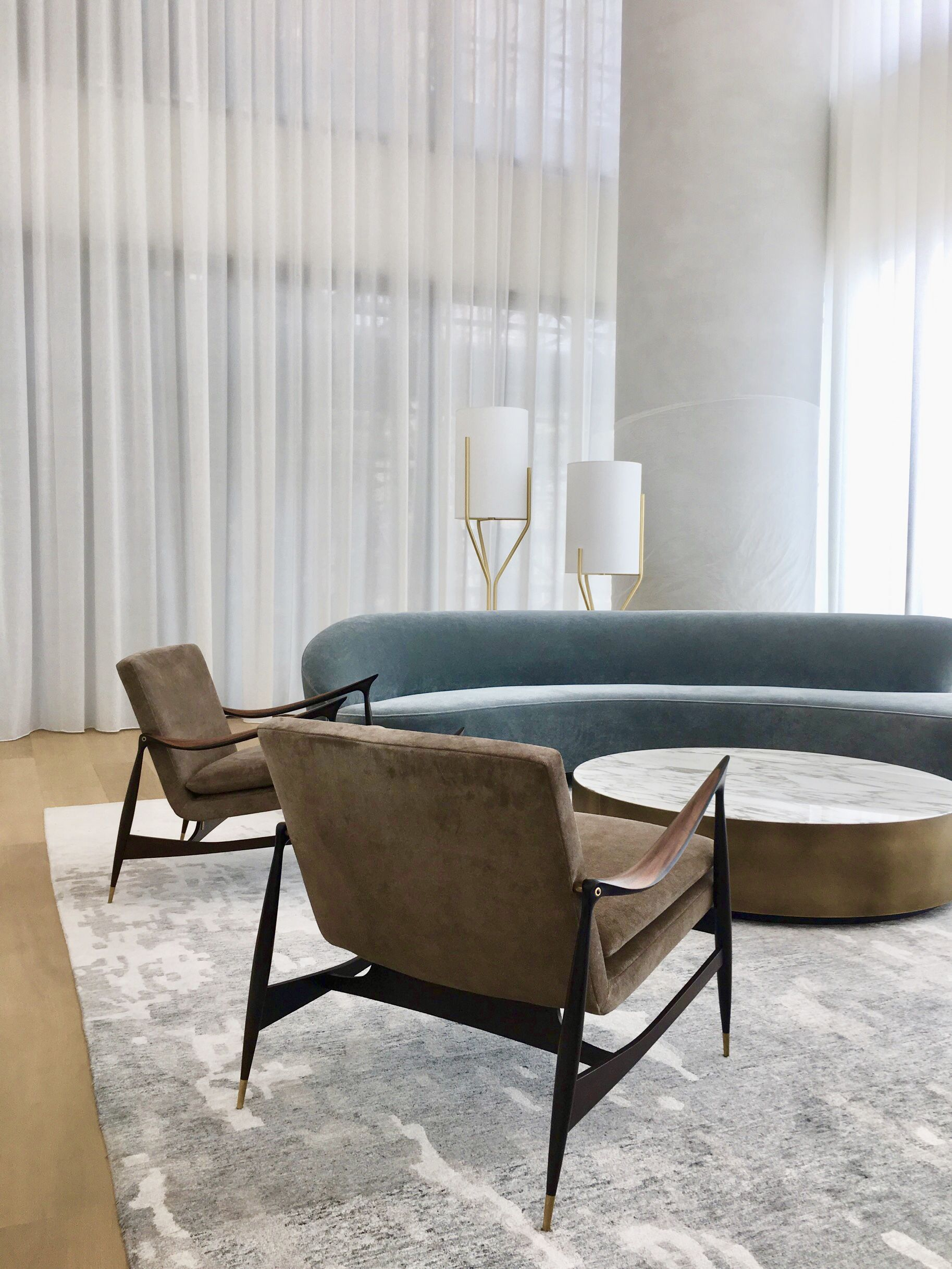 Pair Of Dinamarquesa Lounge Armchairs By Jorge Zalszupin Available At Espasso Midentur Contemporary Living Room Furniture Living Room Modern Houzz Living Room